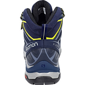 Salomon X Ultra 3 Mid GTX Chaussures Femme, crown blue/evening blue/sunny lime